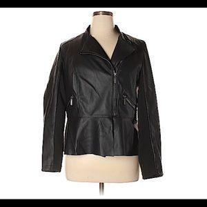 Sexy Lane Bryant Faux Leather Jacket